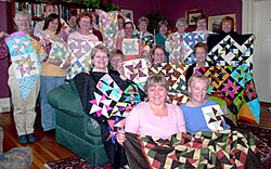 Quilting Retreats at the Strong House Inn